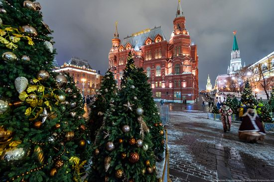 Center of Moscow Decorated for the New Year Holidays, photo 7
