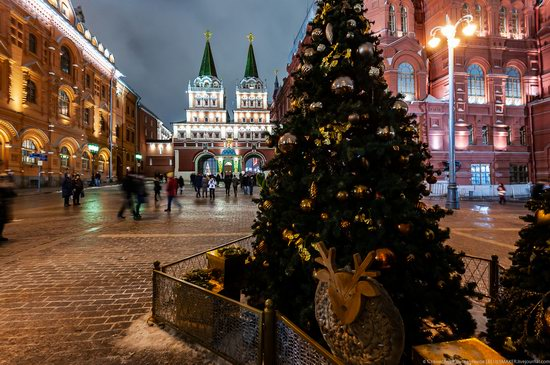 Center of Moscow Decorated for the New Year Holidays, photo 8