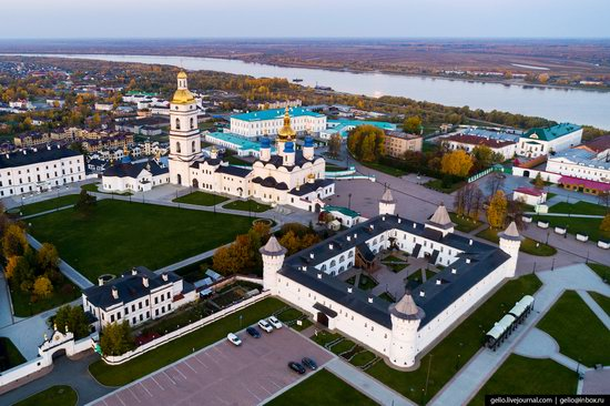 Tobolsk, Russia from above, photo 17