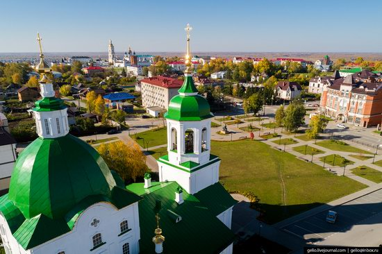 Tobolsk, Russia from above, photo 19