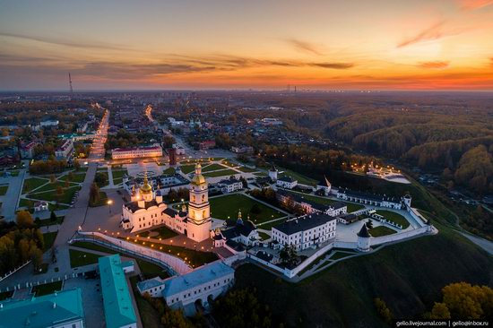 Tobolsk, Russia from above, photo 2