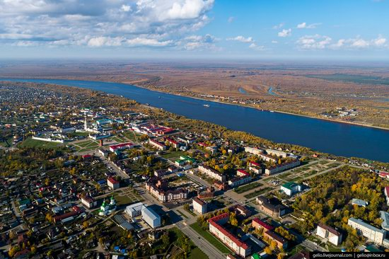 Tobolsk, Russia from above, photo 20