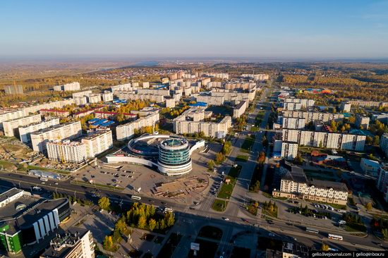 Tobolsk, Russia from above, photo 22