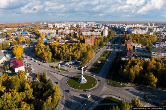 Tobolsk, Russia from above, photo 23
