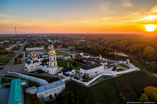 Tobolsk, Russia from above, photo 24