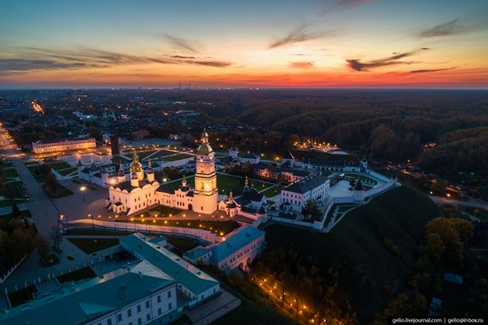 Tobolsk, Russia from above, photo 25
