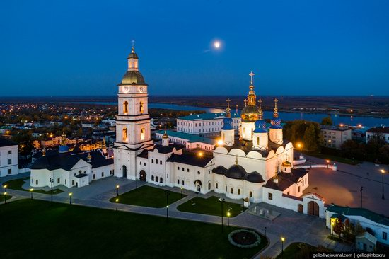 Tobolsk, Russia from above, photo 4