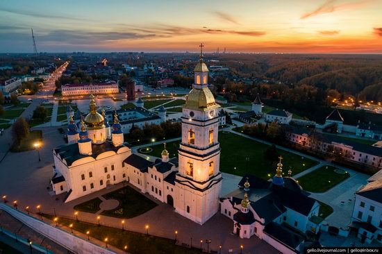 Tobolsk, Russia from above, photo 5