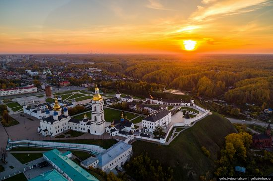 Tobolsk, Russia from above, photo 6