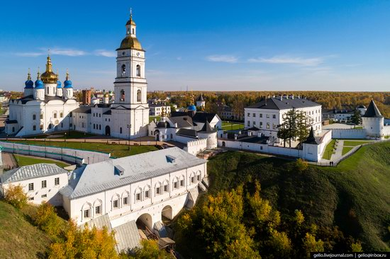 Tobolsk, Russia from above, photo 7