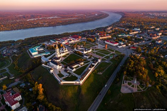 Tobolsk, Russia from above, photo 9