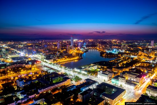 Yekaterinburg - the view from above, Russia, photo 1