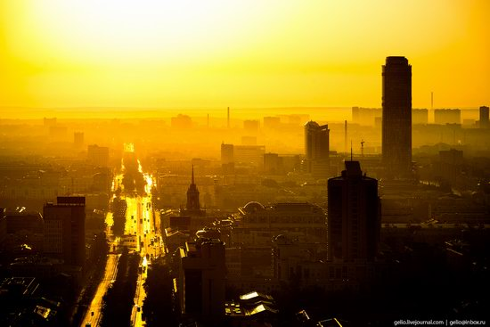 Yekaterinburg - the view from above, Russia, photo 27