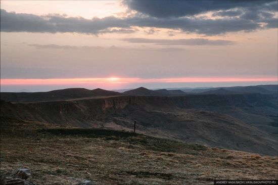 Dawn on the Bermamyt Plateau, Karachay-Cherkessia, Russia, photo 2