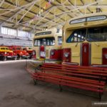 Soviet Retro Vehicles in the Moscow Transport Museum