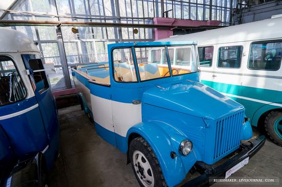 Soviet retro vehicles in the Moscow Transport Museum, Russia, photo 10