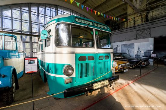 Soviet retro vehicles in the Moscow Transport Museum, Russia, photo 11