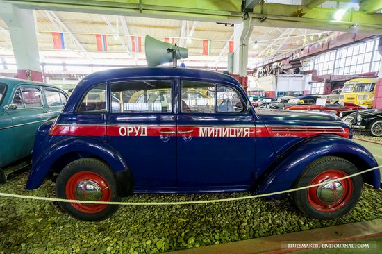 Soviet retro vehicles in the Moscow Transport Museum, Russia, photo 13