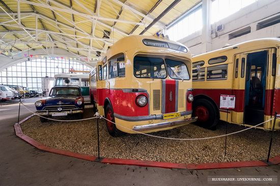 Soviet retro vehicles in the Moscow Transport Museum, Russia, photo 14