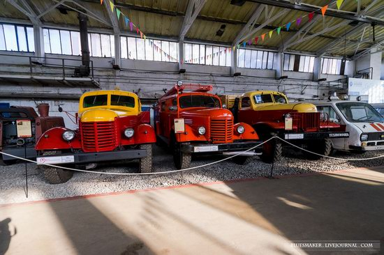 Soviet retro vehicles in the Moscow Transport Museum, Russia, photo 15