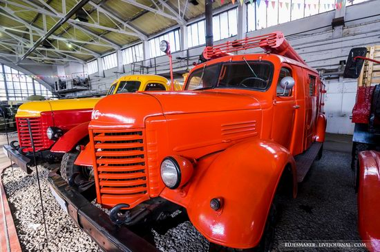 Soviet retro vehicles in the Moscow Transport Museum, Russia, photo 16