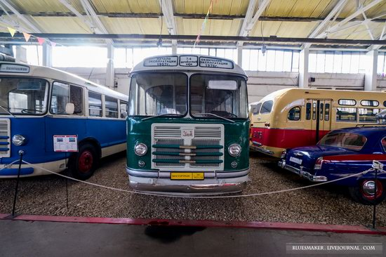 Soviet retro vehicles in the Moscow Transport Museum, Russia, photo 17