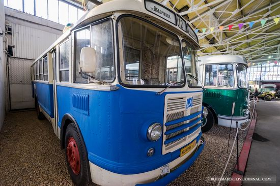 Soviet retro vehicles in the Moscow Transport Museum, Russia, photo 18
