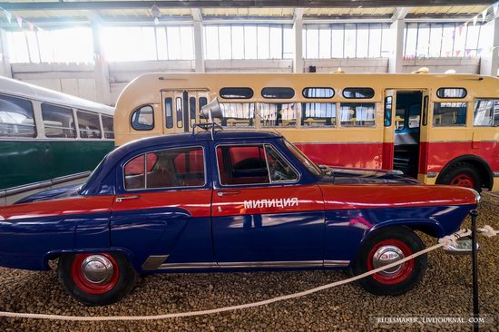 Soviet retro vehicles in the Moscow Transport Museum, Russia, photo 20