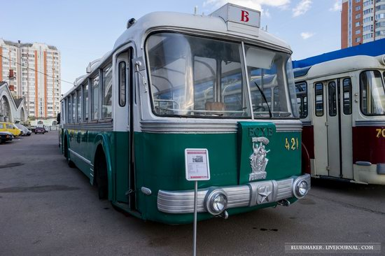 Soviet retro vehicles in the Moscow Transport Museum, Russia, photo 22