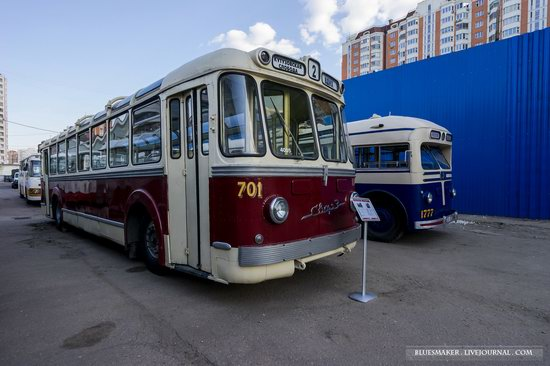 Soviet retro vehicles in the Moscow Transport Museum, Russia, photo 23