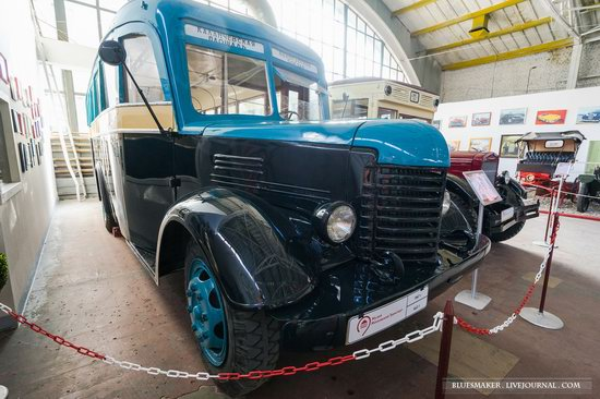 Soviet retro vehicles in the Moscow Transport Museum, Russia, photo 3