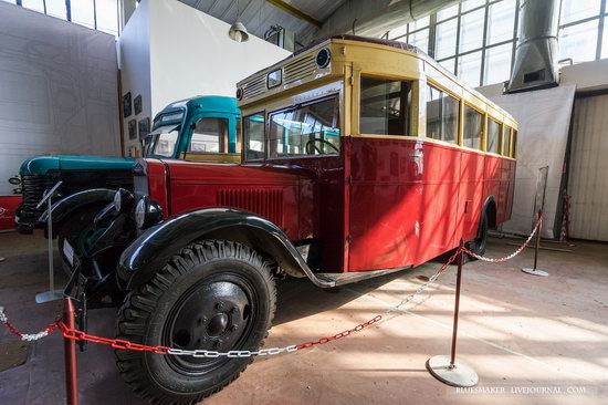 Soviet retro vehicles in the Moscow Transport Museum, Russia, photo 4