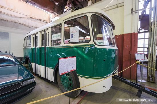 Soviet retro vehicles in the Moscow Transport Museum, Russia, photo 6