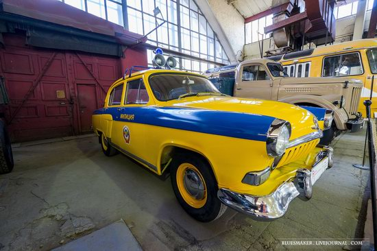 Soviet retro vehicles in the Moscow Transport Museum, Russia, photo 7