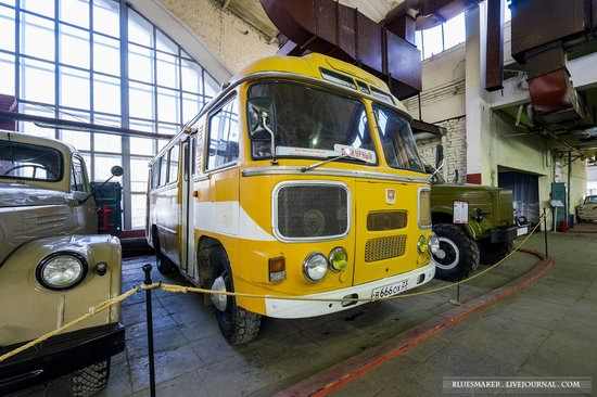 Soviet retro vehicles in the Moscow Transport Museum, Russia, photo 8
