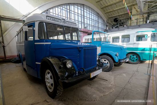 Soviet retro vehicles in the Moscow Transport Museum, Russia, photo 9