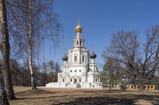 Church of the Life-Giving Trinity in Troitse-Lykovo, Moscow, Russia, photo 12