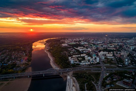 Ufa - the view from above, Russia, photo 1