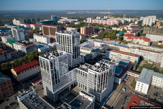 Ufa - the view from above, Russia, photo 10