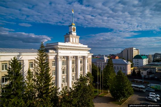 Ufa - the view from above, Russia, photo 11