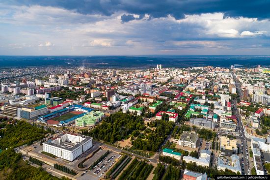 Ufa - the view from above, Russia, photo 12