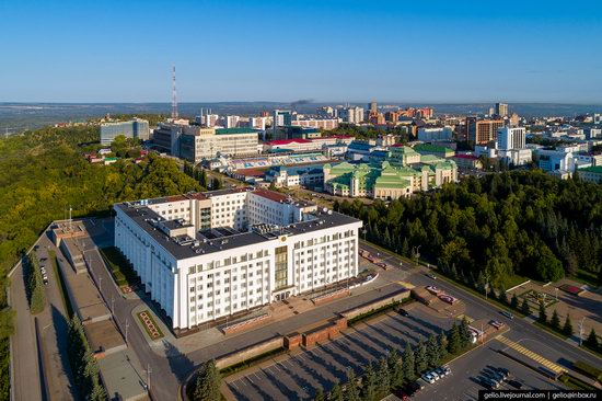 Ufa - the view from above, Russia, photo 13