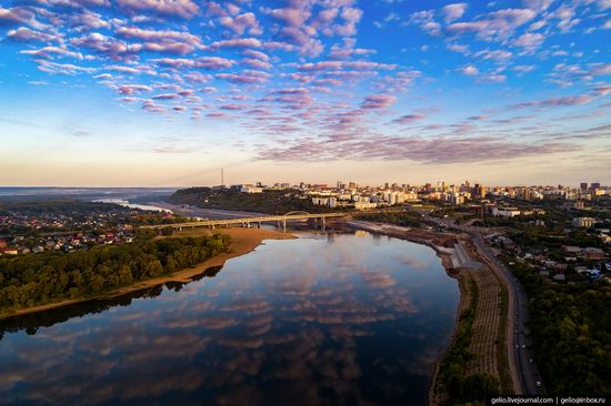 Ufa - the view from above, Russia, photo 14