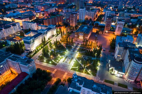 Ufa - the view from above, Russia, photo 17