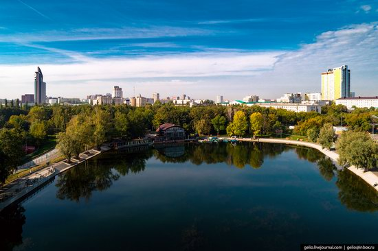 Ufa - the view from above, Russia, photo 20