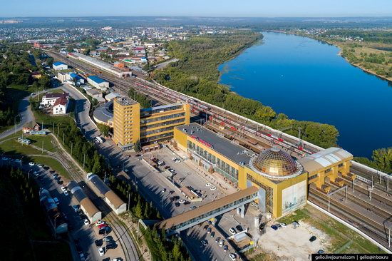 Ufa - the view from above, Russia, photo 21
