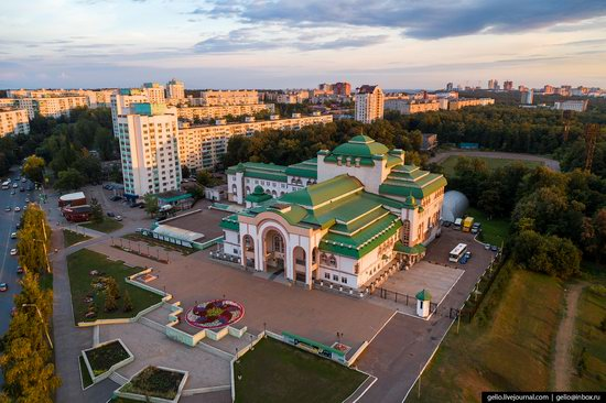 Ufa - the view from above, Russia, photo 28