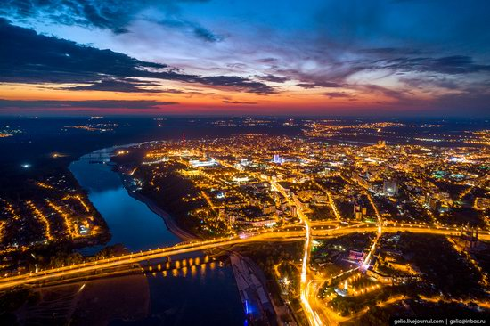 Ufa - the view from above, Russia, photo 30