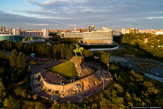 Ufa - the view from above, Russia, photo 4