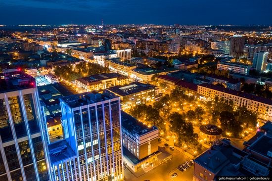 Ufa - the view from above, Russia, photo 6